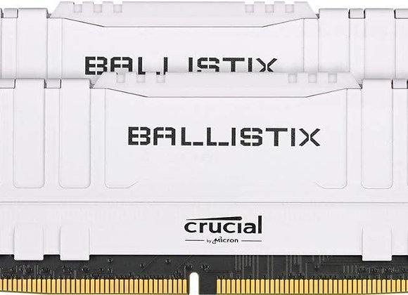 Crucial ME BL2K16G36C16U4W 2x16G DR4 3600MTs CL16 Unbuffered DIMM 288pin White