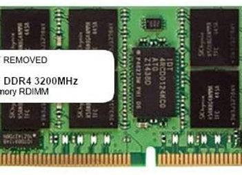 Samsung Memory M393A8G40AB2-CWE 64GB DDR4 3200Mhz ECC Registered 2Rx4
