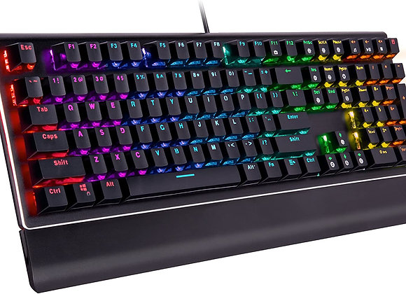 Rosewill Keyboard NEON K85 RGB Mechanical Gaming Keyboard with Kailh Blue Switch