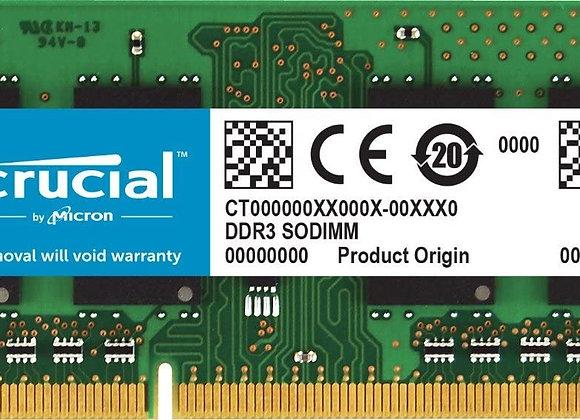 Crucial Memory CT102464BF160B 8GB DDR3 1600 SODIMM 1.35V