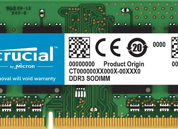 Crucial Memory CT51264BF160B 4GB DDR3 1600 SODIMM 1.35V