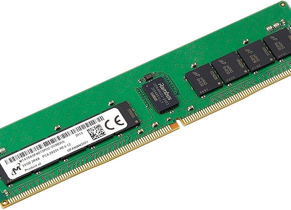Micron Memory MTA18ASF4G72PDZ-2G9B2 32GB DDR4 2933Mhz ECC RDIMM 2Rx8