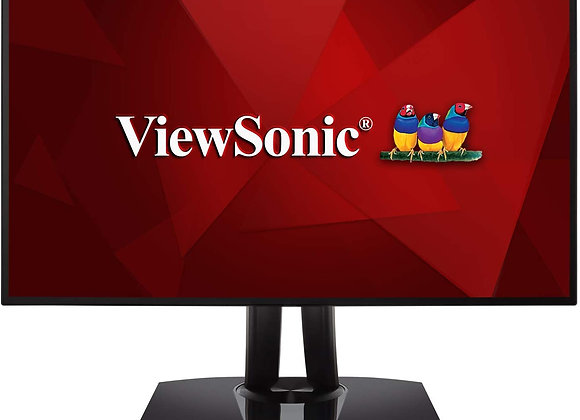 """ViewSonic Monitor 27"""" sRGB Color Accurate with USB-C 2560x1440 Resolution"""