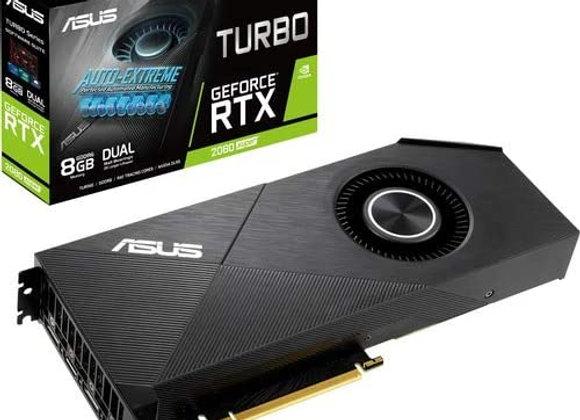 ASUS GeForce RTX2080 Super 8G Turbo Edition GDDR6 HDMI DisplayPort Graphics Card