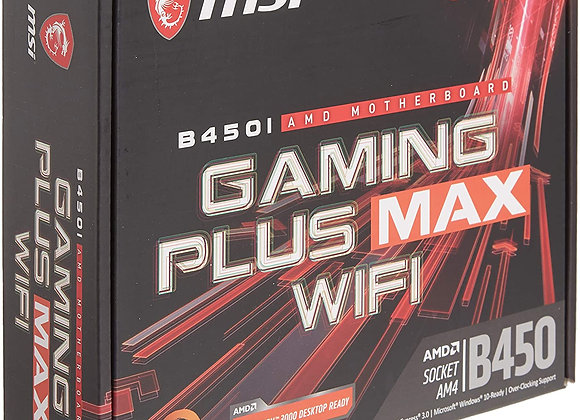 MSI B450IGPMAXWI B450I GAMING PLUS MAX WIFI AMD RYZEN AM4 B450 32GB DDR4 PCI Exp