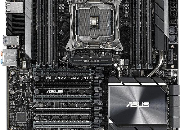 Asus WS C422 SAGE/10G S2066 Intel C422 Max.512GB DDR4 Window10 CEB Form Factor