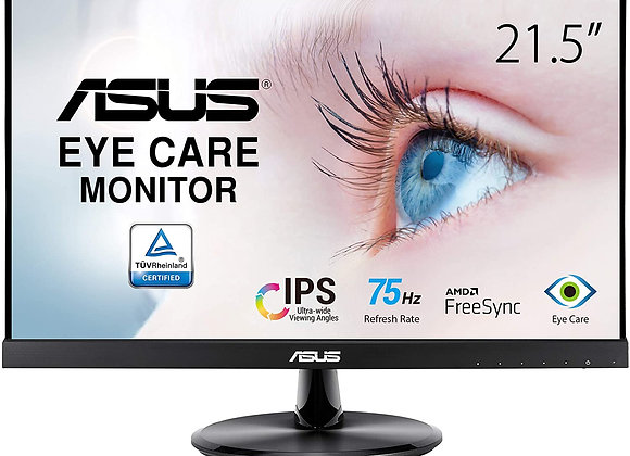 "ASUS Monitor VP229HE 21.5"" IPS Full HD 1920x1080 16:9 1000:1 5ms HDMI/VGA"