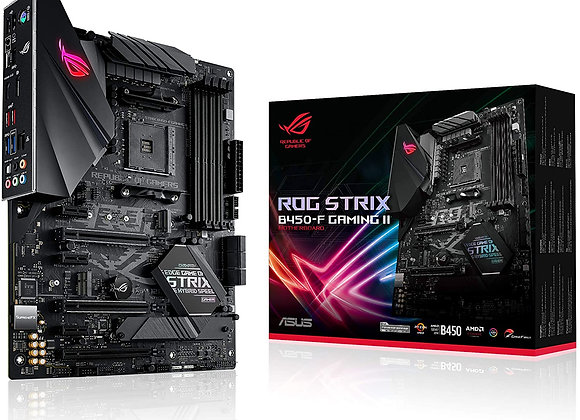 ASUS Motherboard ROG STRIX B450-F GamingII B450 AMD AM4 Max.128GB DDR4 HDMI ATX