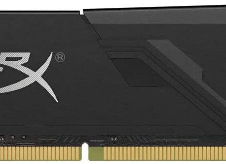 Kingston Memory HX432C16FB3/8 8GB 3200MHz DDR4 CL16 DIMM 1Rx8 HyperX FURY Black