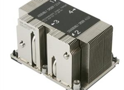 Supermicro FAN X11 Purley LGA 3647-0 Narrow CPU Heat Sink For 2U Brown Box