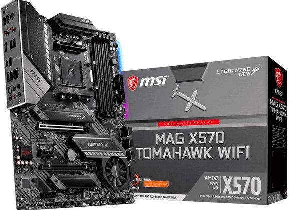 MSI MAG X570 TOMAHAWK WIFI RYZEN 9 AMD X570 AM4 DDR4 128GB PCIE HDMI/USB ATX