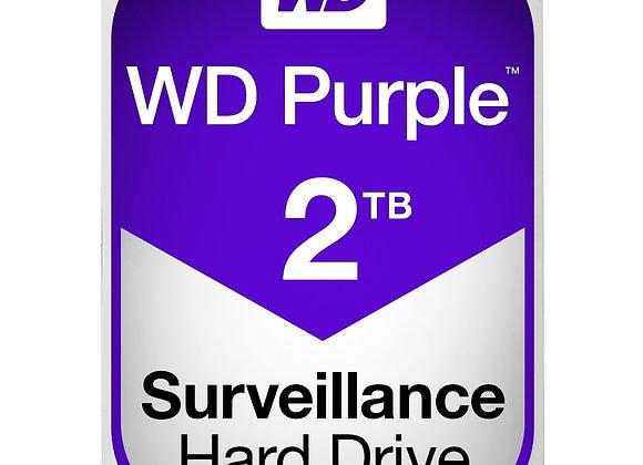 """Western Digital Hard Drive WD Purple AV 3.5"""" 2TB 64MB SATA 6Gb/s 5400 RPM"""