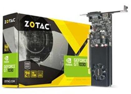 Zotac Video Card ZT-P10300A-10L GT 1030 2GB GDDR5 64bit DVI-D/HDMI