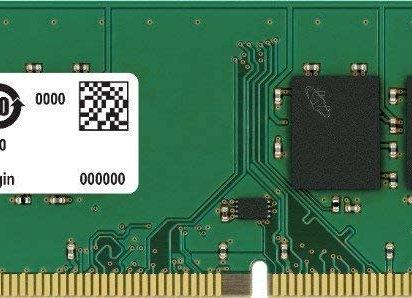 Crucial Memory CT4G4DFS824A 4GB DDR4 2400 Unbuffered