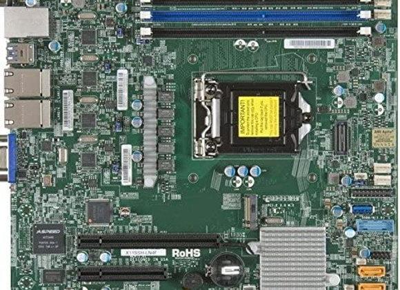 Supermicro Micro ATX DDR4 LGA 1151 Motherboards X11SSH-LN4F-O