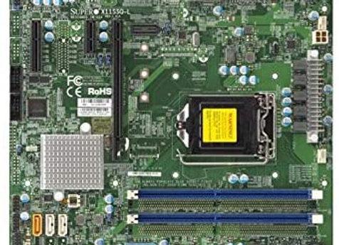 Supermicro X11SSQ-L-O Core i7/i5/i3 H110 LGA1151 PCI Express SATA HDMI Micro-ATX