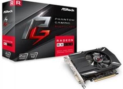 ASRock Video Card AMD Radeon RX550 2GB GDDR5 128-bit PCI-Express x16