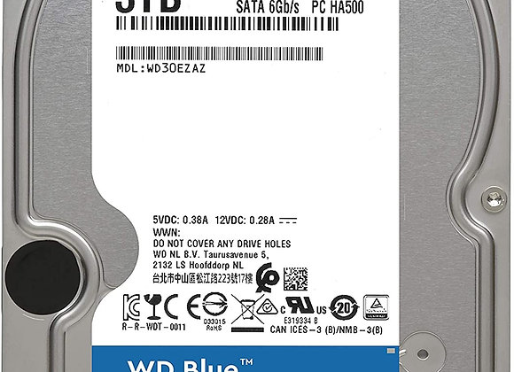 Western Digital HDD WD30EZAZ 3TB SATA 256MB Cache WD Blue