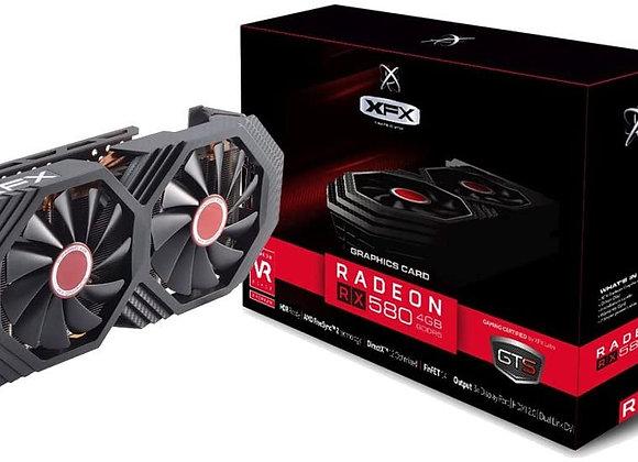 XFX GTS XXX Edition RX 580 4GB OC+ 1386MHz DDR5 w/Backplate 3xDP HDMI DVI