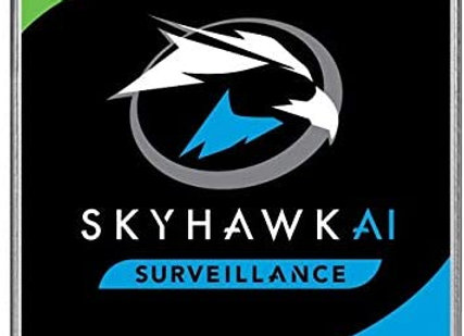 """Seagate Hard Drive ST12000VE001 12TB 3.5"""" SATA 6 Gb/s 256MB SkyHawk AI Bare"""