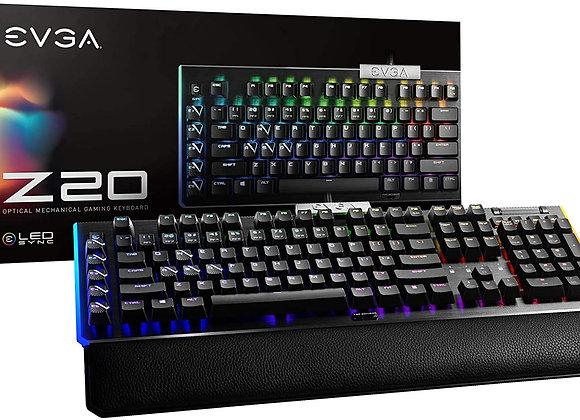 eVGA Keyboard 811-W1-20US-KR Z20 RGB Optical Mechanical Gaming Keyboard Linear