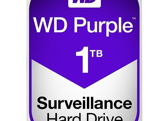 """Western Digital WD Purple AV 3.5"""" 1TB 64MB SATA 6Gb/s 5400 RPM"""