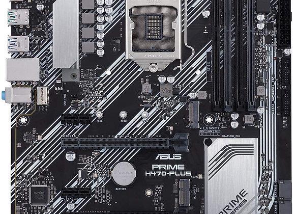 ASUS MB PRIME H470M-PLUS/CSM LGA1200 H470 DDR4 128GB DisplayPort/HDMI/DVI-D mATX