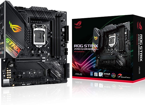 ASUS Z490 LGA 1200 (Intel 10th Gen) SFF Micro ATX Gaming Motherboard