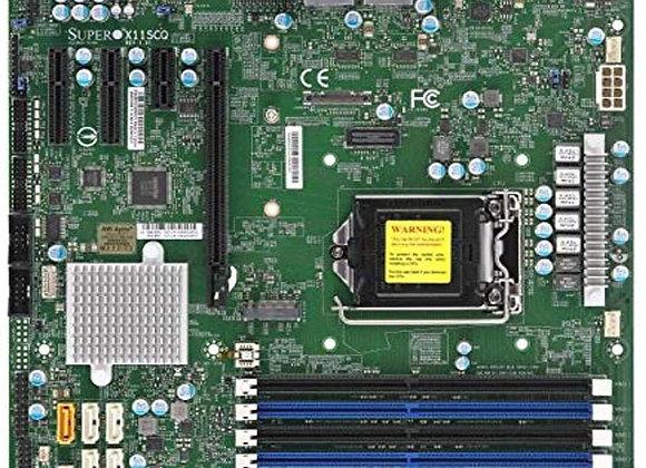 Supermicro MBD-X11SCQ-O Corei7/i5/i3 S1151 Q370 PCIE SATA uATX DDR4 2666MHz