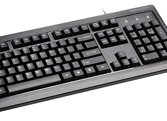 Kensington Keyboard K33997WW K72436AM Optical Wired Keyboard MC for Life Desktop