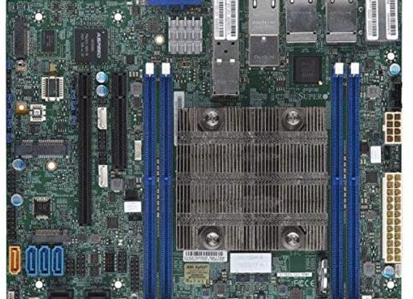 Supermicro MBD-X11SDV-12C-TP8F-O Xeon D-2166NT 256GB DDR4 PCIE Flex ATX