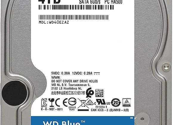 Western Digital Hard Drive WD40EZAZ 4TB SATA 256MB Cache WD Blue
