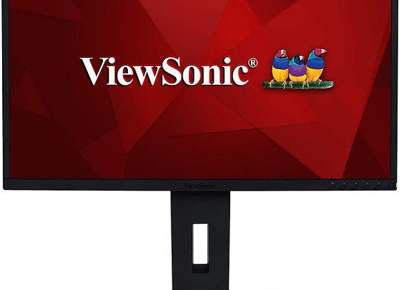 """Viewsonic VG2448 24"""" IPS Full HD HDMI/DisplayPort/VGA/USB 3.0 SuperClear Monitor"""
