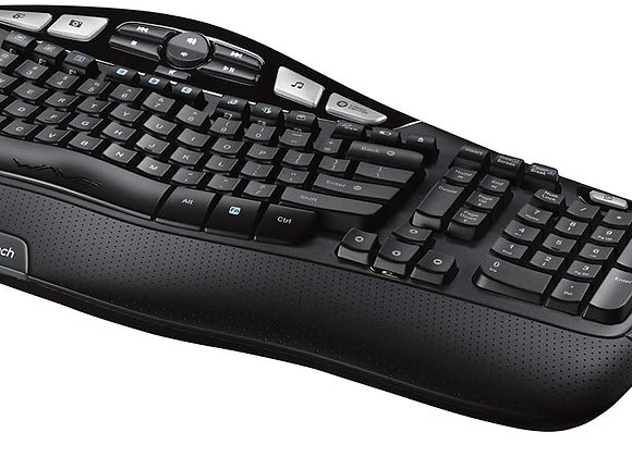 Logitech Keyboard and Mouse 920-002555 Wireless Wave Combo MK550 2.4GHz