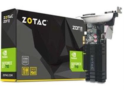 Zotac Video Card GT 710 1GB DDR3 64Bit PCI Express x1 DVI/HDMI/VGA Retail