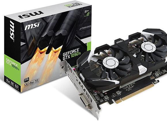MSI Computer V809-2277R Video Card (GTX 1050 TI 4GT OC)
