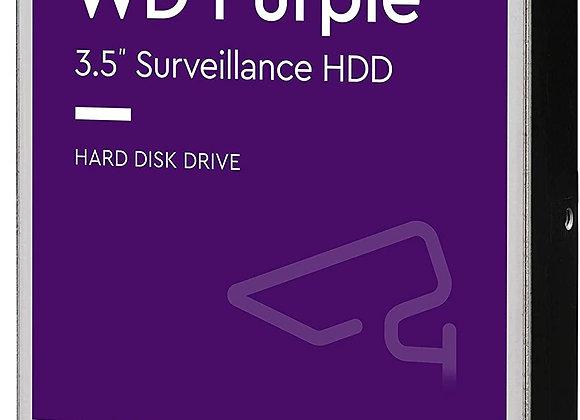 """Western Digital Hard Drive 10TB SATA 3.5"""" 256MB AV Brand WD Purple 7200 RPM"""