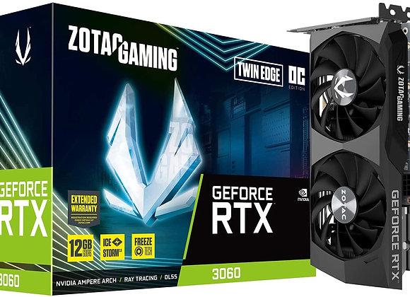 Zotac VCX ZT-A30600H-10M GeForce RTX 3060 12GB GDDR6 192B PCIE HDMI DP