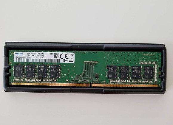 Samsung Memory 8GB M378A1K43DB2-CTD DDR4 2666Mhz UDIMM 1Rx8 1.2V