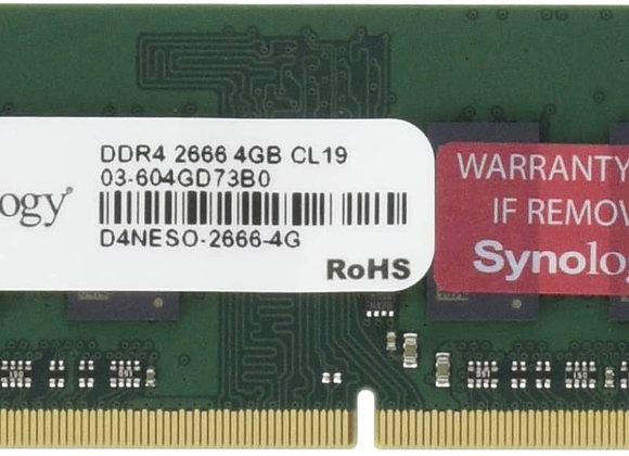 Synology Memory D4NESO-2666-4G RAM DDR4-2666 non-ECC SO-DIMM 4GB