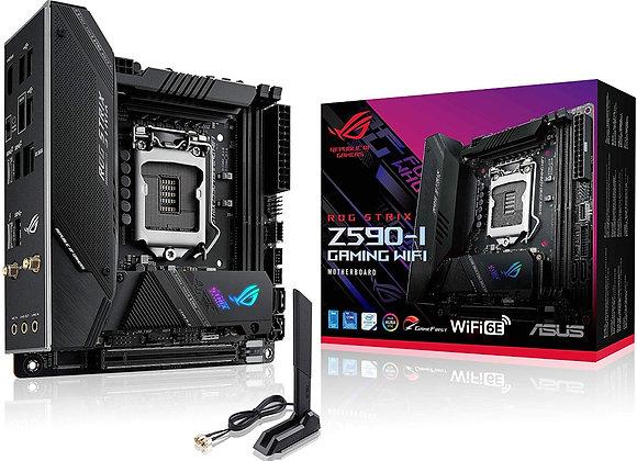 ASUS Motherboard ROG Strix Z590-I GAM WIFI Z590 LGA1200 Max64GB DDR4 Mini ITX