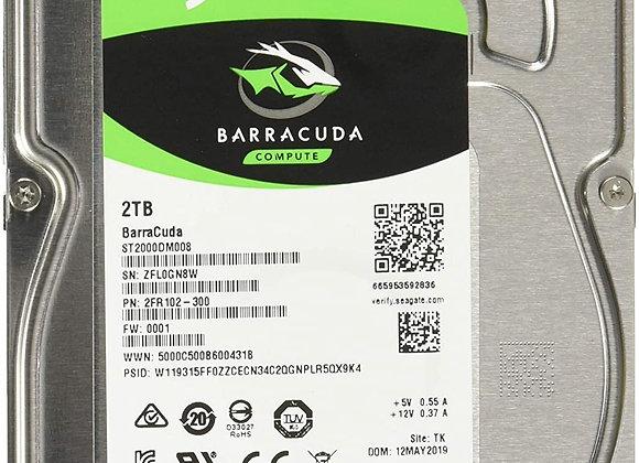 "Seagate Hard Drive ST2000DM008 2TB 256M SATA 6Gb/s 3.5"" Desktop bare"