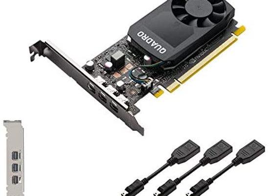 PNY Video Card VCQP400V2-PB NVIDIA Quadro P400 v2 2GB GDDR5 Retail