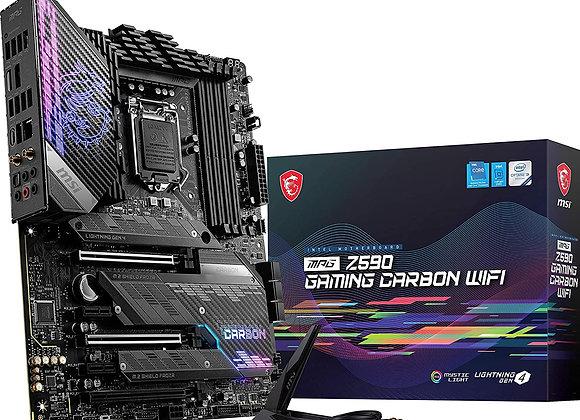 MSI MPG Z590 GAMING CARBON WIFI SOCKET1200 Z590 Max.128GB DDR4 PCI Express ATX
