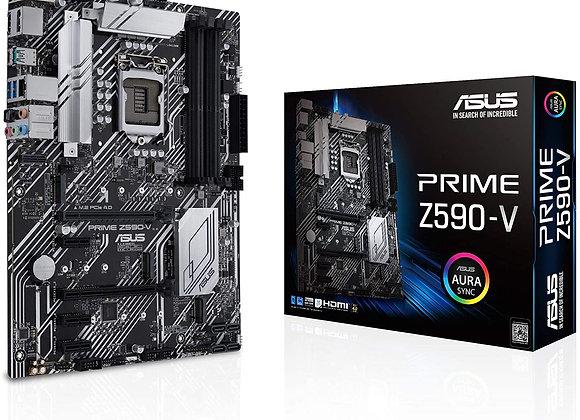 ASUS Motherboard PRIME Z590-V Z590 LGA1200 Max128GB DDR4 PCIe ATX