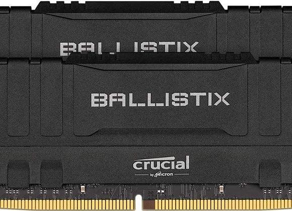 Crucial Memory BL2K32G32C16U4B 64GB(2x32GB) DDR4 3200MT/s CL16 Unbuffered DIMM