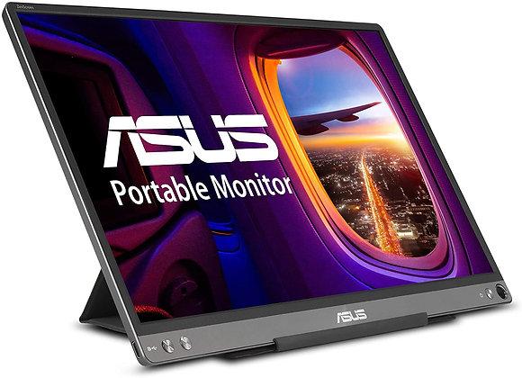 "ASUS Monitor MB16ACE 15.6"" Full HD IPS 16:9 1920x1080 USB Type-C Dark gray"