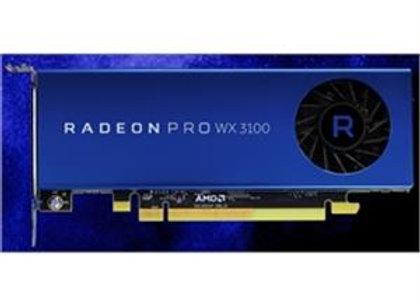 AMD Radeon Pro WX 3100 4GB GDDR5 10Bit PCIE 2 x Mini-DisplayPort Retail