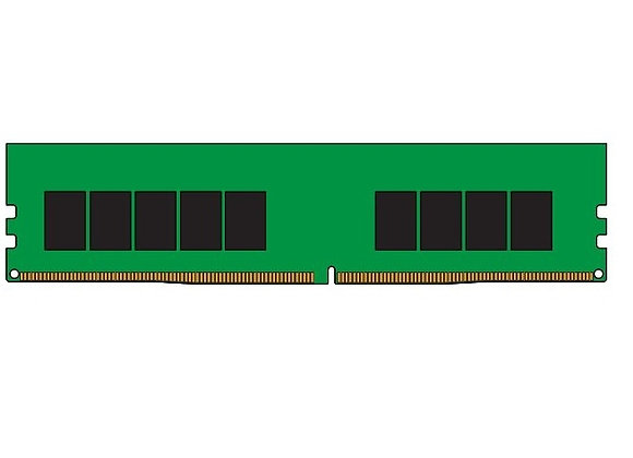 Kingston Memory KSM29ES8/8HD 8GB 2933MHz DDR4 ECC CL21 DIMM 1Rx8 Hynix D