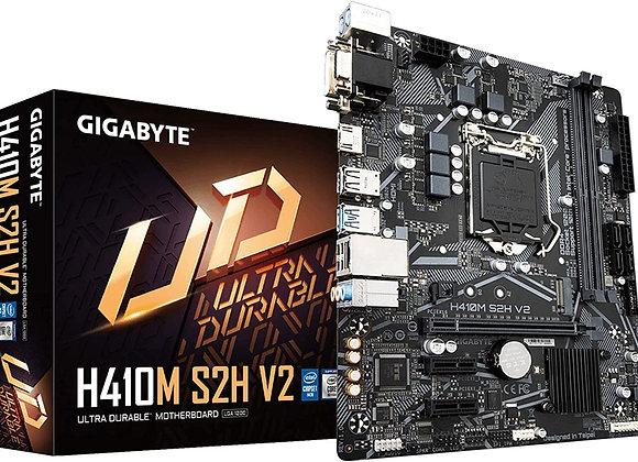 Gigabyte MB H410M S2H V2 Ci9 i7 i5 i3 S1200 H410 Max64GB DDR4 Micro ATX